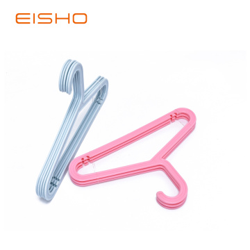 EISHO Durable Small Plastic Hanger For Drying Clothes