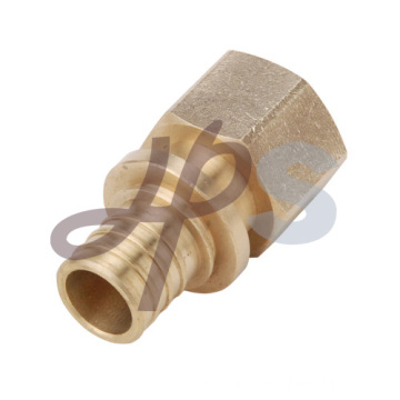 Brass Female straight PEX coupling