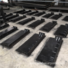 10*10 Chromium Carbide Overlay Coated Steel Wear Plates