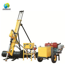 Protable flexible rock&soil hole drilling rig