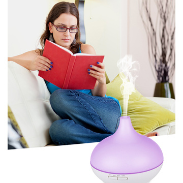 Glossy Plastic Led Light Scent Oil Aroma Diffuser