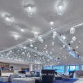 Customization delicate banquet lobby glass chandelier