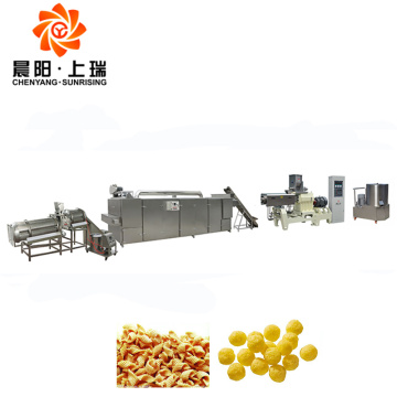 Fried chips snacks extruder food snack extruder machines