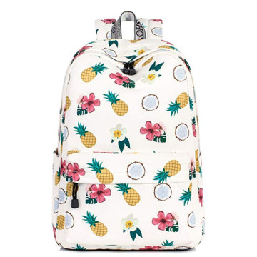 Leisure Kids Custom School Book Bag Back Pack