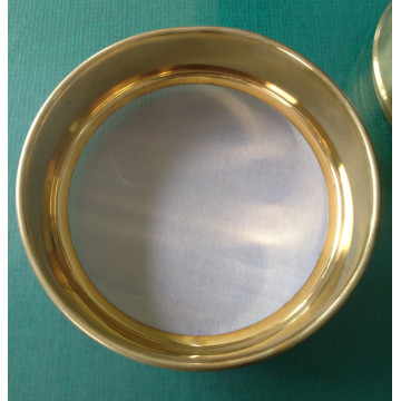 Standard 304 brass test sieve