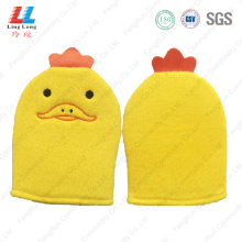 Duck animal gloves bathing massaging item
