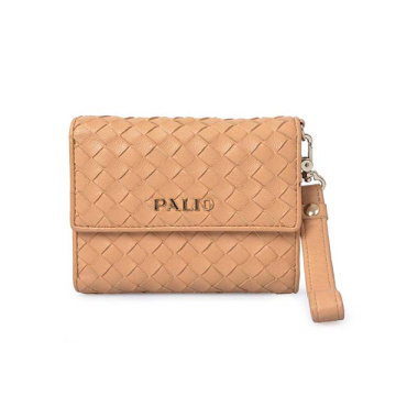 Mesh Pattern Wallet Clutch Stylish Slim Coin Purse