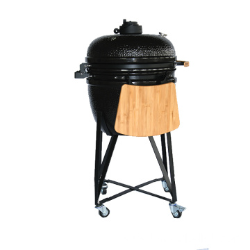 Ceramic Trolley Kamado Charcoal BBQ Grill