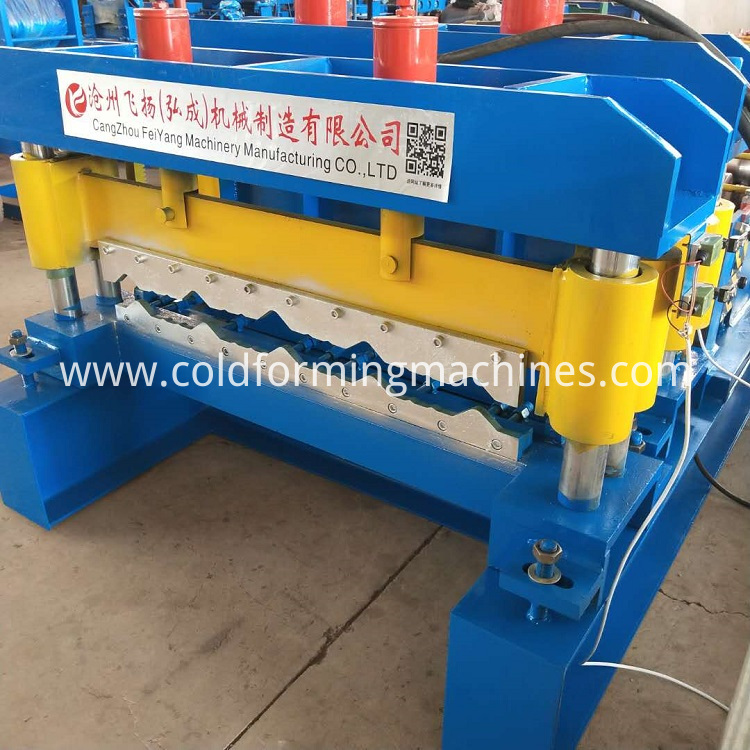 glazed tile roll forming machine n