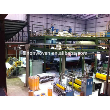S/SS/SSS/SMS PP Spunbond Nonwoven Slitting Machine