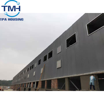 construction structure steel processing warehouse build