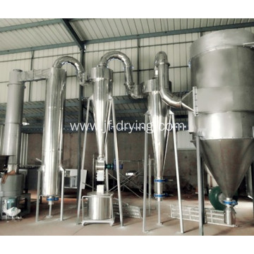 Paste materials spin flash dryer/drying