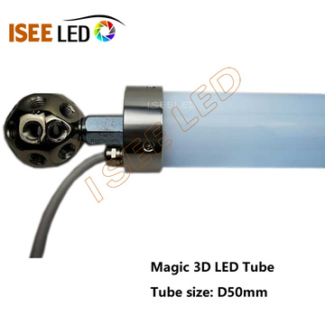 3D DMX LED RGB Tube for Club Lighting