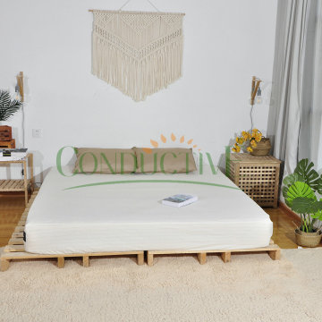 Conductive Earth Connection Ground Bed fitted Sheet sleeping