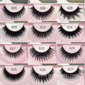 High Quality Hand Made Human Hair Eyelashes False Eyelash Private Label Packaging Fake Eyelash 10 Pairs