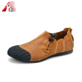 New Stylish Leather Handmade Casual Shoes For Men