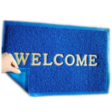 Customized entrance floor door mat with logo