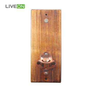 Pine Board with Bottle Opener