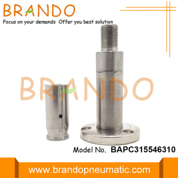 Flange Seat 15.5mm OD Stainless Steel Solenoid Plunger