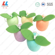Wholesale flower shower puff mesh sponge
