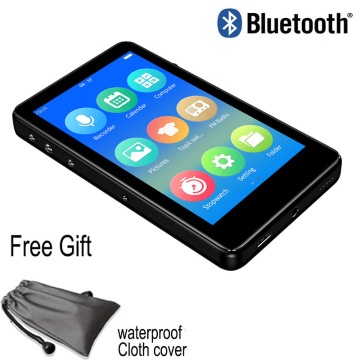 Bluetooth 5.0 mp4 player 3.0 inch full touch screen built-in speaker with e-book FM radio voice recorder video playback