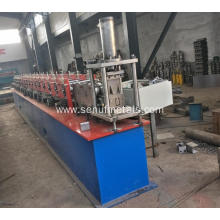 Steel strip u channel track bending machine