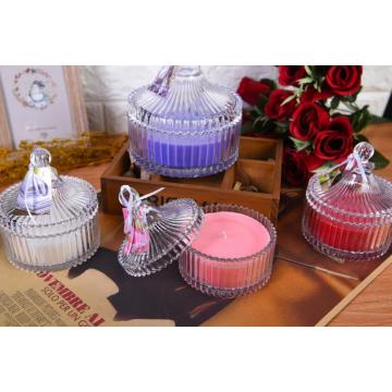 Aroma Glass Pot Candles