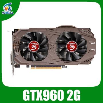 VEINEDA Graphics Cards Original GTX 960 2GB 128Bit GDDR5 1203MHz/7012MHz Video Card for nVIDIA Geforce GTX960 2GB Dvi Cards