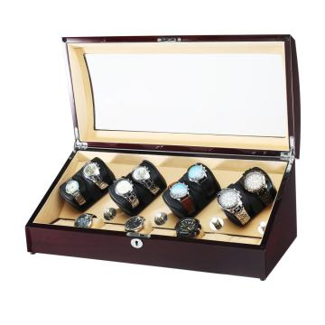 16 watch winder box with extra storage