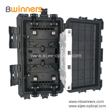 24 Core In Line Outdoor Fiber Splice Enclosure
