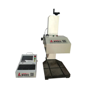 Quality Assurance desktop dot peen marking machine for pipe