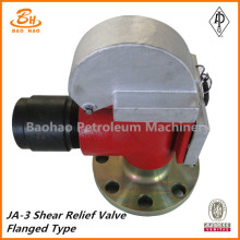 JA-3 shear relief valve flange type