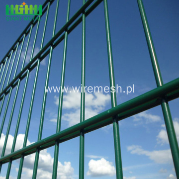 Twin Horizontal PVC Welded Wire Fence