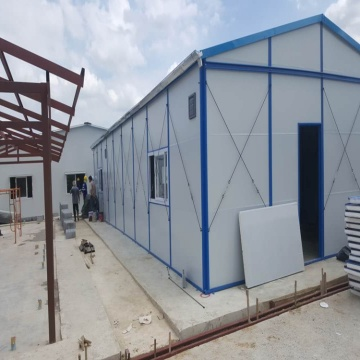 Light steel convenient colombia prefabricated house