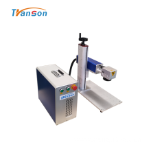 Mini Metal Fiber Laser Marking Machine 20W 30W