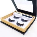 False eyelash 3d magnetic eyeliner eye lashes set