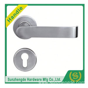 SZD stainless steel door handle for cabinet with rubber