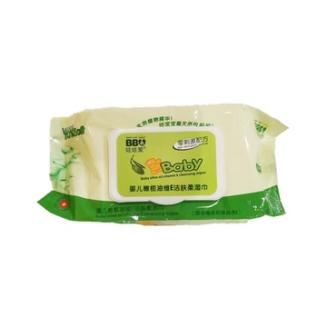 Baby Olive Oil Vitamin E Cleansing Wipes