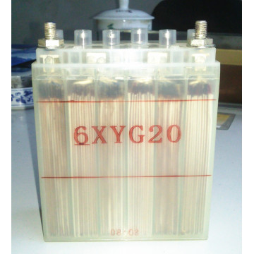 6XYG20 silver zinc battery for aircraft