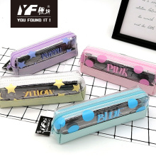 Custom fashion color style pencil case