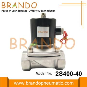 2S400-40 1 1/2'' Stainless Steel Solenoid Valve Water