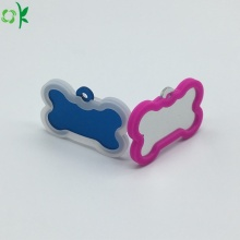 Cute Silicone Pet Tag Protective Holder