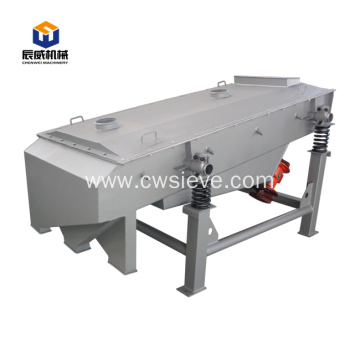 Big capacity linear vibrating screen equipment for sale