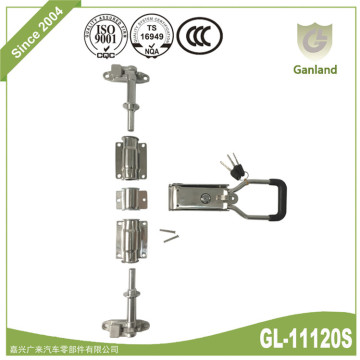 Stainless Steel Refrigerator Door Handle Lock