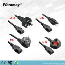 Home Appliance Power Cable Cord US/Au/EU/UK Plug