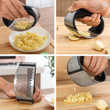 Stainless Steel Garlic Miner PP Handle