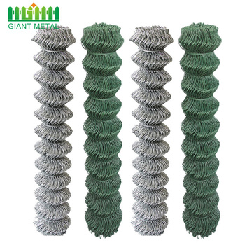 Supply cheap price pvc coated chain link fence