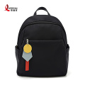 Black Anti Theft Travel Backpack for Women
