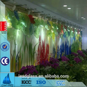 Design Colored Printed Toughened Glass Sheet For Decoration
