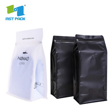 Custom Design Food Grade laminated plastic Coffee Bags